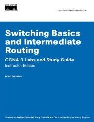 CCNA 3 Labs and Study Guide - BINARYBB.INFO – @jagalbraith