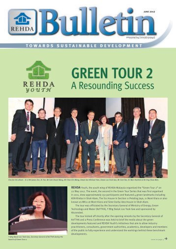 GREEN TOUR 2 - The Real Estate and Housing Developers