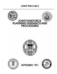 JP 5-00.2 Joint Task Force Planning Guidance and Procedures - BITS