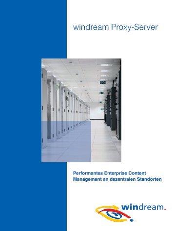 windream Proxy-Server [457 KB] - Windream GmbH