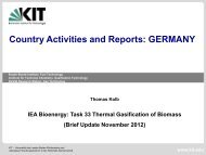 Germany - IEA BioEnergy Agreement Task 33