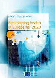 eHealth Task Force Report - E-Health-Com