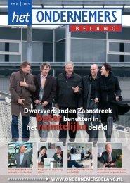 Het Ondernemersbelang Zaanstreek nummer 2-2011