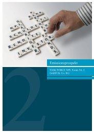 TASK FORCE NPL Fonds Nr. 2 GmbH - Fondsvermittlung24.de