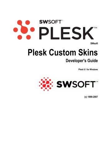 Plesk Custom Skins Developer's Guide - FTP Directory Listing