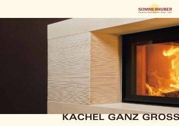 KACHEL GANZ GROSS - Sommerhuber