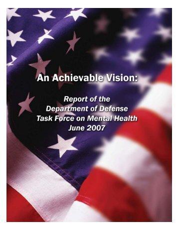 Defense Health Board Task Force On Mental Health - Health.mil