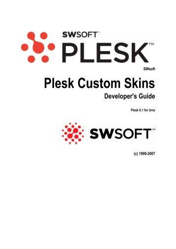 Plesk Custom Skins - Parallels