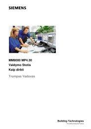 MM8000 vartotojo vadovas