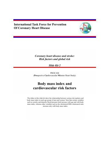Body mass index and cardiovascular risk factors - International Task ...