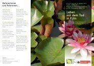 Flyer der Veranstaltung - Palliativ- und Hospiznetzwerk Köln