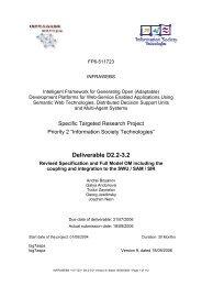 Deliverable D2.2-3.2 - STI Innsbruck