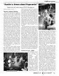 """""""La plej granda tasko de la orga- niza¢o estas pli ... - Esperanto-USA - Page 3"""
