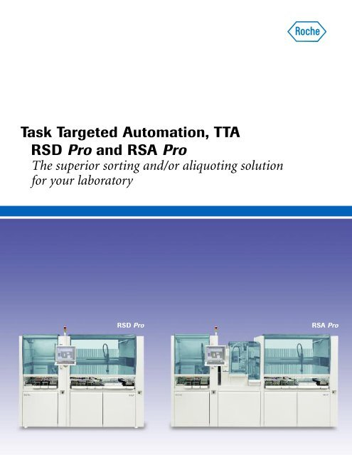 Roche Diagnostics Task Targeted Automation - The