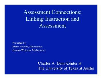 Clarifying the TEKS - Charles A. Dana Center