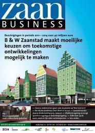b & W Zaanstad maakt moeilijke keuzen om ... - Zaanbusiness