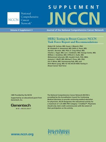 Jnccn - National Comprehensive Cancer Network