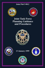 Joint Pub 5-00.2 Joint Task Force Planning Guidance and ... - BITS