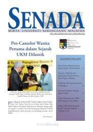Senada januari 2011 - Universiti Kebangsaan Malaysia