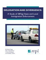 Delegation and Divergence: A Study of 287(g) - Migration Policy ...