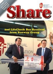 2nd LifeCheck Bus Received from Sunway Group - NKF