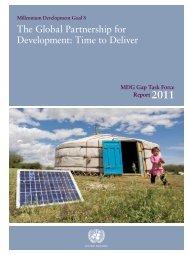 MDG Gap Task Force Report 2011