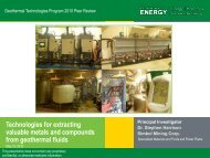 Technologies for Extracting Valuable Metals and ... - EERE