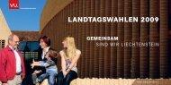 PDF 2.2 MB - GEMEINSAM sind wir Liechtenstein - Vaterländische ...