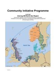 Community Initiative Programme - Interreg IVB North Sea Region ...