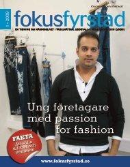 Ung företagare med passion for fashion - Fokus Väst
