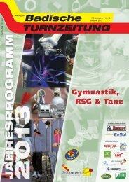 Gymnastik, RSG & Tanz - Badischer Turner Bund