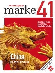 das marketingjournal Der Tanz mit dem Drachen - marke41