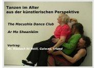 Ar Mo Sheanléim Tanz in einem Altersheim