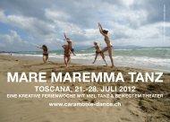MARE MAREMMA TANZ - Carambole tanz & theater