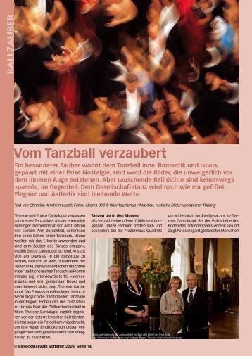 Vom Tanzball verzaubert - Birseck Magazin