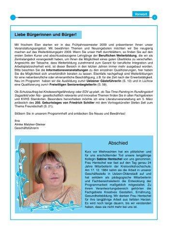 Liebe Bürgerinnen und Bürger! - Kreisvolkshochschule Uelzen ...