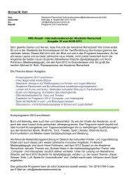 als pdf-Dokument herunterladen - Akademie Remscheid