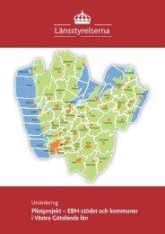 EBH-stödet och kommuner i Västra Götalands län - Länsstyrelserna