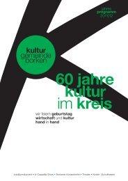 wir feiern geburtstag wirtschaft und kultur hand in hand - Stadt Borken