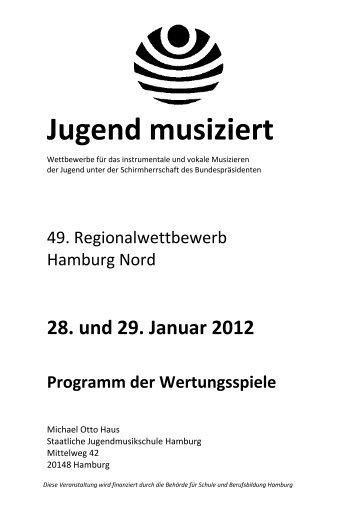 2012 Nord - Jugend musiziert: Jugend musiziert