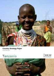 Country Strategy Paper - Irish Aid