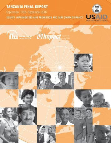 Tanzania Final Report for USAID's Implementing AIDS ... - FHI 360