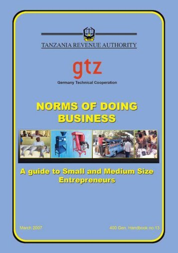 Contents - Tanzania Revenue Authority
