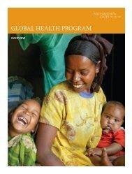 Global Health Program Overview - Bill & Melinda Gates Foundation