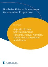 Aspects of Local Self-Government: Tanzania, Kenya ... - Kunnat.net