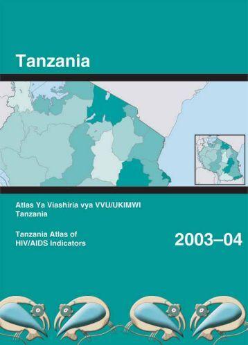 Atlas Ya Viashiria vya VVU/UKIMWI Tanzania - Measure DHS