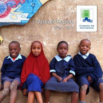Annual Report - Computer Aid International