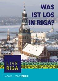 WAS IST LOS IN RIGA? - LiveRiga.com