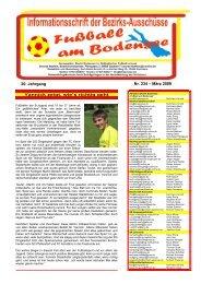 Nr. 234 – März 2009 20. Jahrgang - SBFV