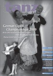 Aus den Vereinen - Deutscher Tanzsportverband eV